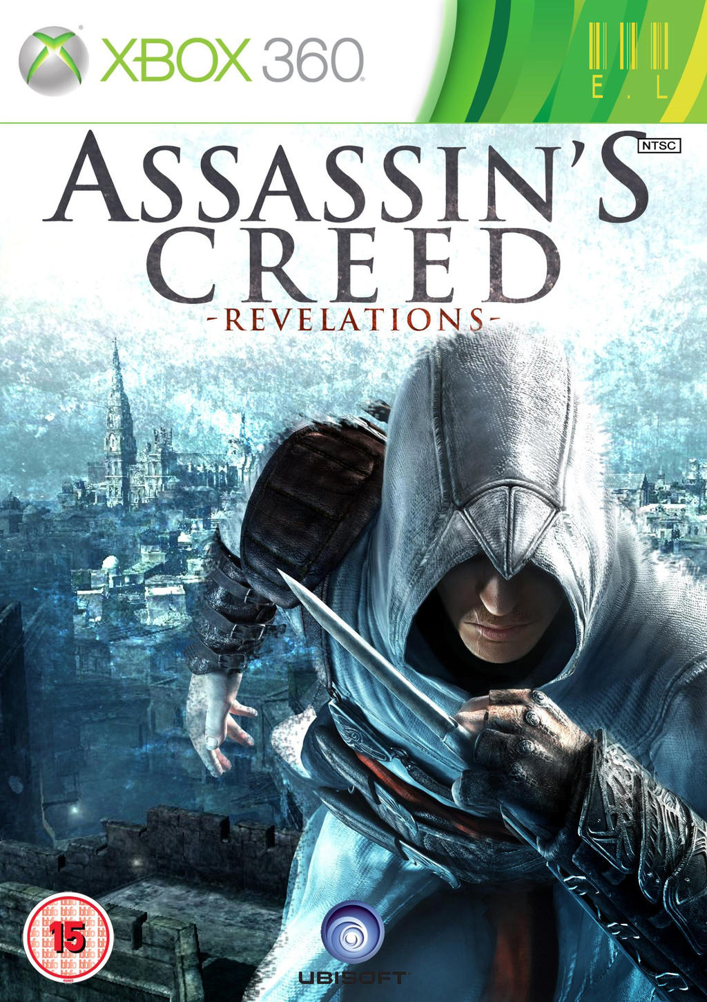 Assassin S Creed Revelations Game Cover Redesign By El Graphics