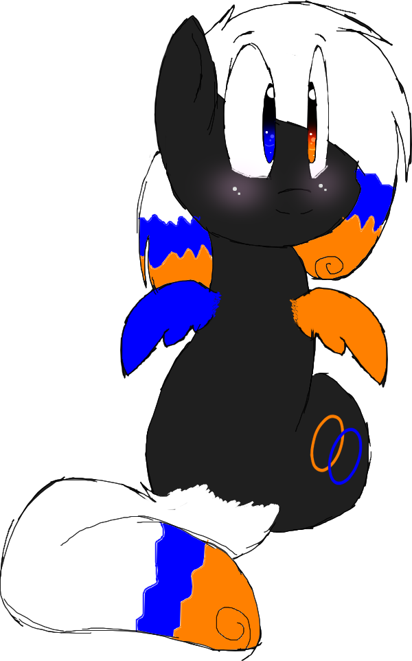 Portal pony made by :iconButterScoth223:! by Mark-The-RP-account