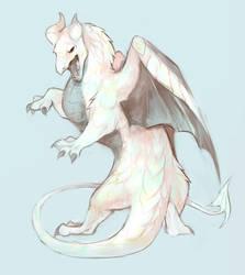 Opal Dragon by Limecrumble