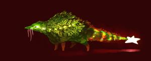 chrismas tree creature! OPEN 30 usd