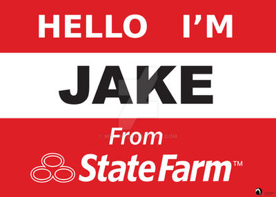 Candid image with regard to jake from state farm name tag printable