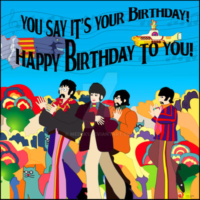Beatles birthday card wallpaper by medek1 on deviantart beatles birthday card wallpaper by medek1 m4hsunfo