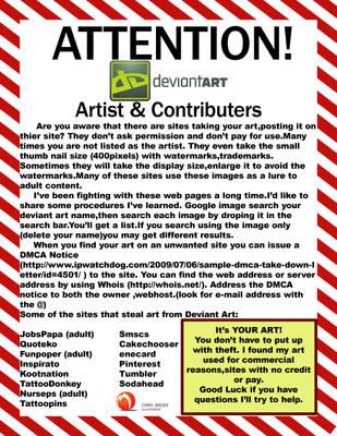 Deviantart Attention by medek1