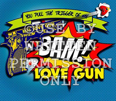 BAM  Love Gun Valentine by medek1