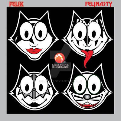 Felix the KISSthumb by medek1