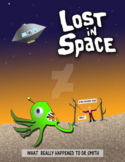 Dr Smith  Lost in Space by medek1