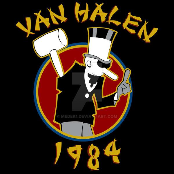 Van Halen Exterminator1b By Medek1 On Deviantart