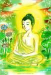 Green Buddha by carsonhadlee