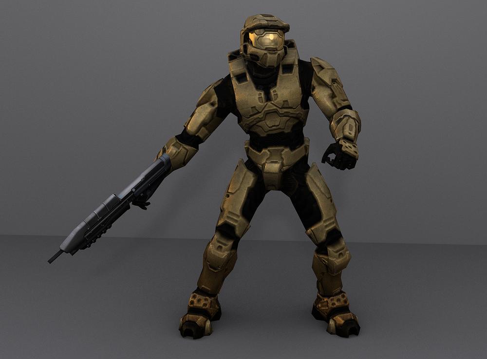 Halo 3 Spartan Wannabe by Keablr on DeviantArt