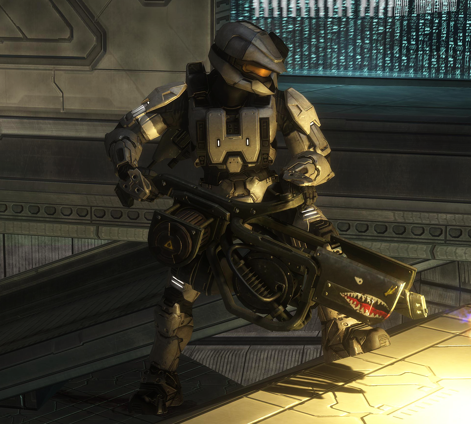 Halo Live Wallpaper: Scout Armor With Flamethrower By Keablr On DeviantArt