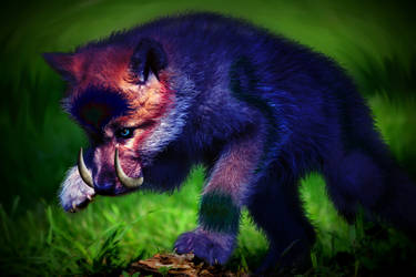 Virosa Puppy by SleepyEvilDemon