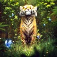 Sunkissed Tiger