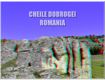 3D anaglyph Gorges of Dobrogea APNG by gogu1234