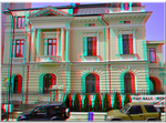 3D anaglyph Bucharest buildings (12) APNG by gogu1234