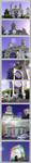 3D anaglyph Saint Sylvester Church Bucharest by gogu1234