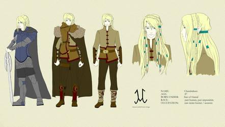 Character design: Chandrakant by Amalaaniwa
