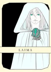 Laima (godess of fate) by Amalaaniwa