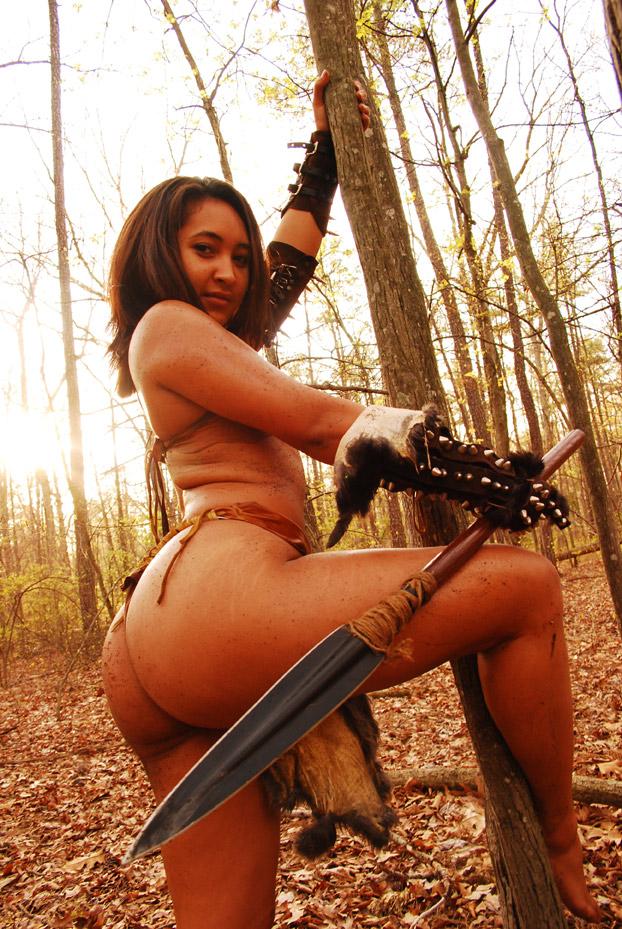 Crystal Tribal warrior 3 by TheGreatWukong