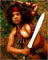 Aselieme ready for battle by TheGreatWukong