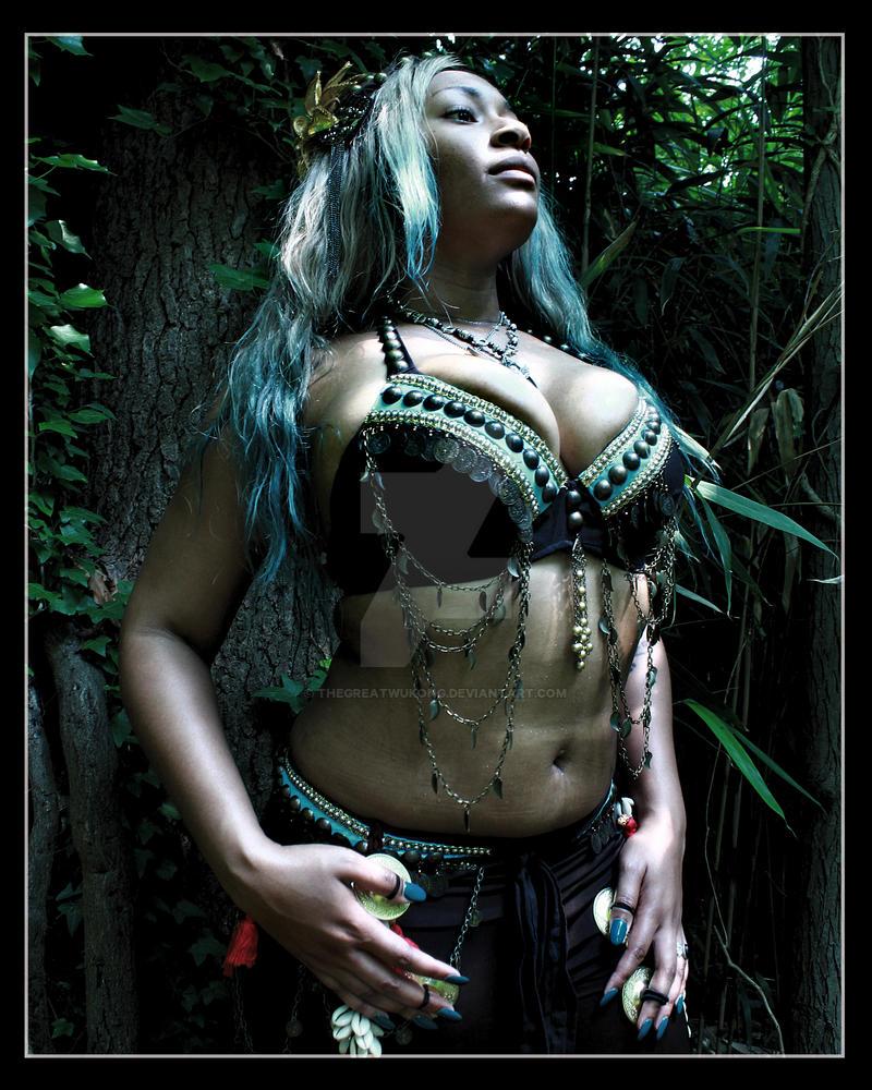 Goddess Tiala by TheGreatWukong