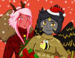 SU OC- Christmas comission