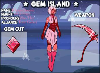 Gem Island- Rhodochrosite