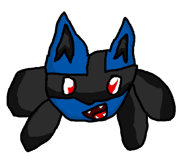 Lucario Cool Face by luctrollplz on DeviantArt