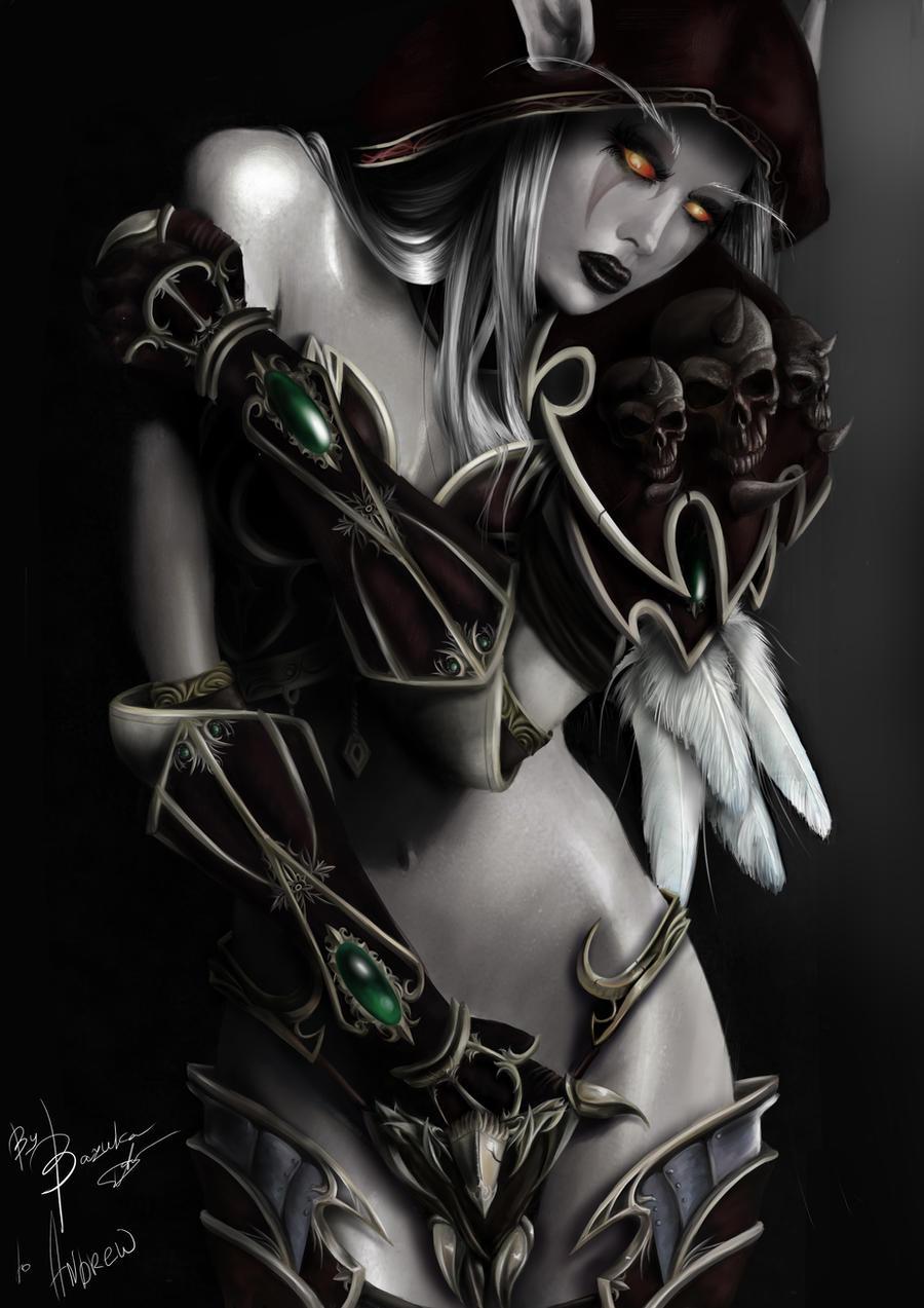 Lady Sylvanas lingerie pron image