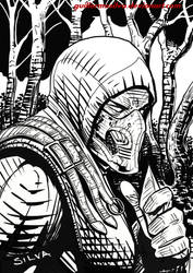 Scorpion Mortal Kombat X by guillermosilva