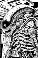 Alien by guillermosilva