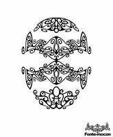 tattoo head by mocon