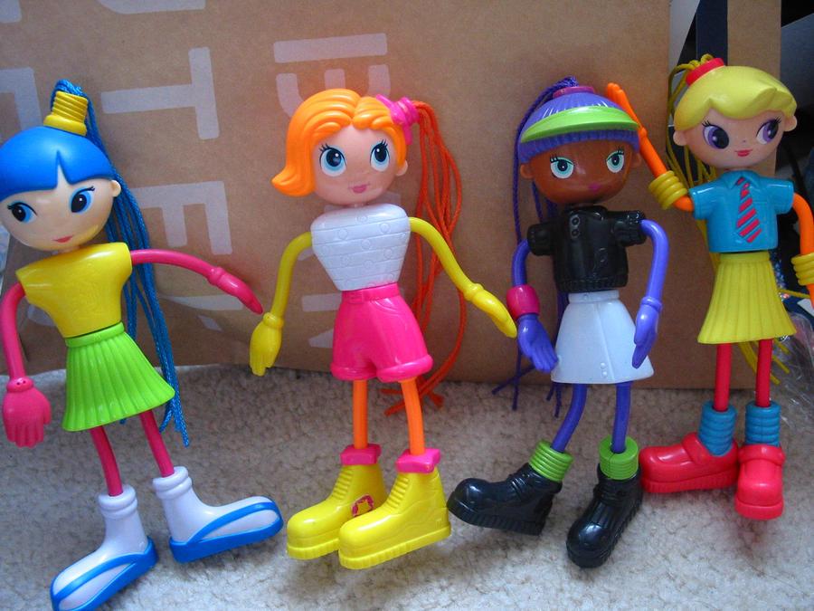 Betty Spaghetti Toys : Betty spaghetty mc donalds set by panda on deviantart