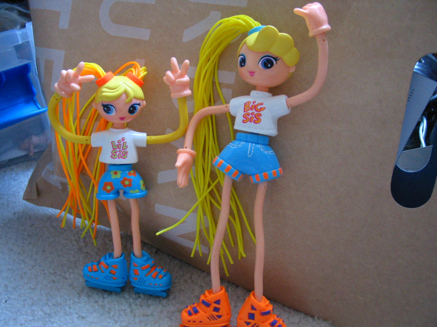 Betty Spaghetti Toys : Betty spaghetty and sis ally by panda on deviantart