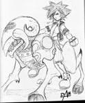 Kingdom Hearts-untitled sketch