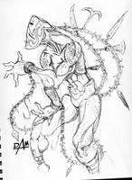 Weird sketch no.1 by dmario