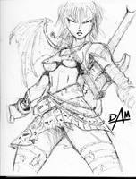 weird sketch no.2 by dmario