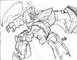 MajiKING - sketch by dmario