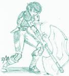 08-01-05 elf boy inkpen sketch by dmario