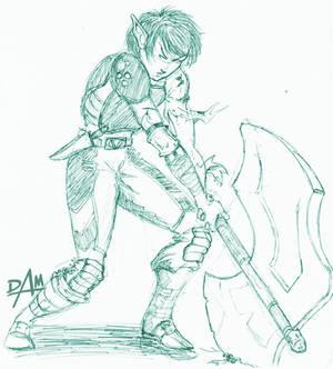 08-01-05 elf boy inkpen sketch