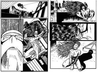 Ninjan's nightmare 1-2 by dmario