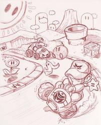 DMario Kart - GO GO by dmario
