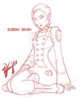 Eureka 7 sketch by dmario