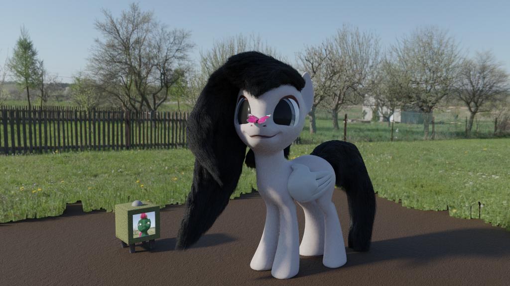 Grey Ploob by ponyguy456