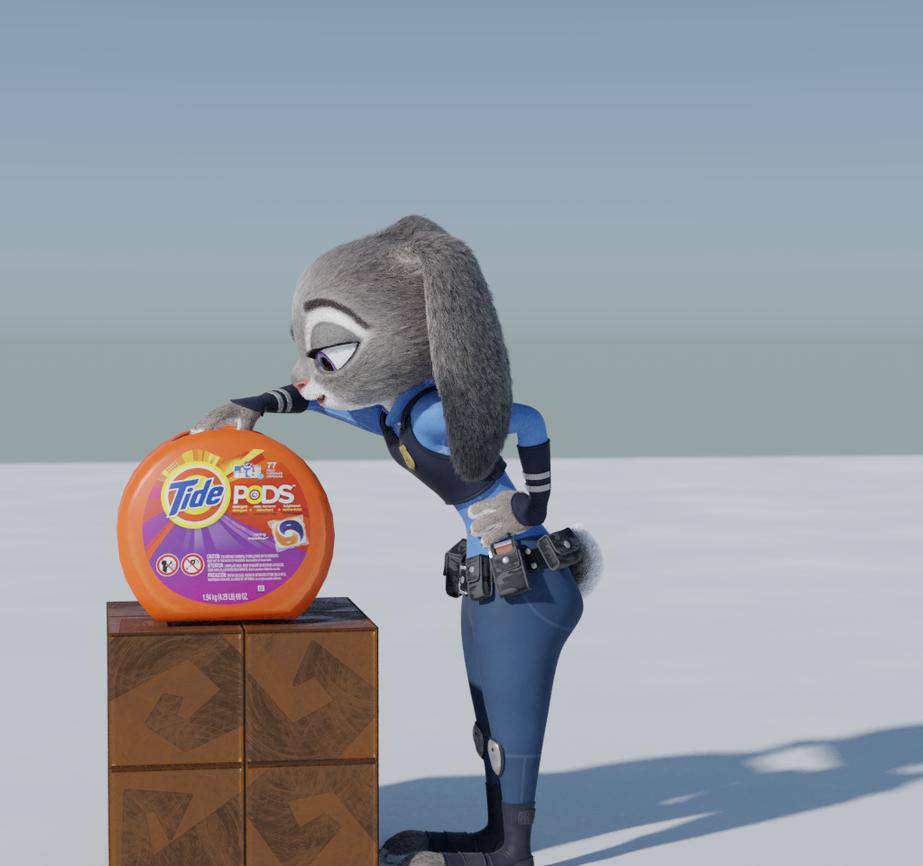 Tide Pod Judy by ponyguy456