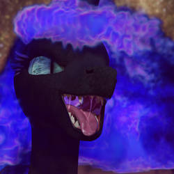 Nightmare moon maw final render 1  by ponyguy456