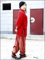 Qing Dynasty (03) Female Prisoner by D-ZHANG-PHOTOGRAPHY