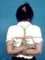 Lanlan Chinese Rope Binding (12) by D-ZHANG-PHOTOGRAPHY