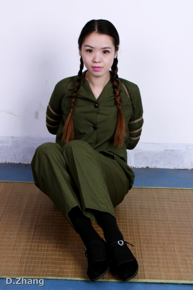 Army girl bondage