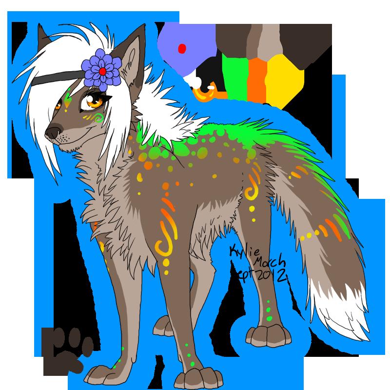 Pretty Wolf By Tabery