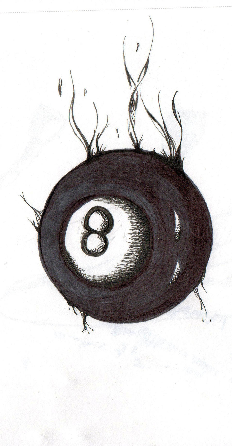 High quality 8 Ball Drawing inspired TShirts by independent artists and designers from around the world All orders are custom made and most ship worldwide within 24